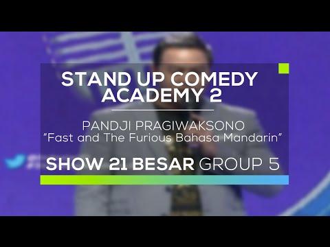 Pandji Pragiwaksono - Fast and The Furious Bahasa Mandarin (SUCA 2 - Guest Star)
