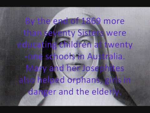 Blessed Mary MacKillop (Confirmation Research homework project)