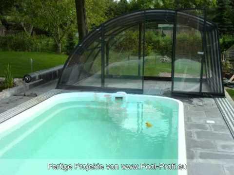 gfk schwimmbecken fertig schwimmbecken gebaut von pool youtube. Black Bedroom Furniture Sets. Home Design Ideas