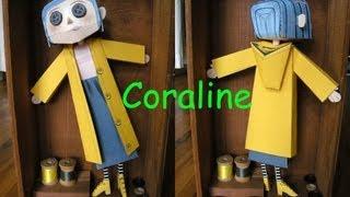Coraline Papercraft Tutorial
