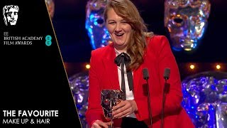 The Favourite Wins Make Up & Hair | EE BAFTA Film Awards 2019
