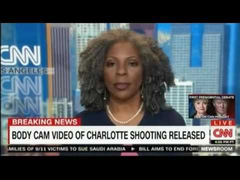 Charlotte police video of shooting Keith Lamont Scott both videos warning Graphic Footage