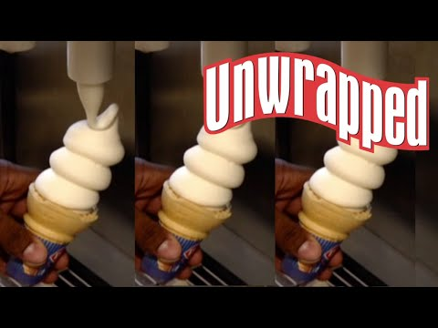 How Dairy Queen Ice Cream Is Made (from Unwrapped) | Food Network
