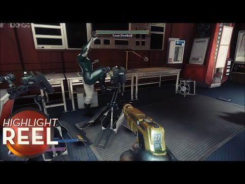 Highlight Reel #302 - Prey NPC Has Had It With These Turrets