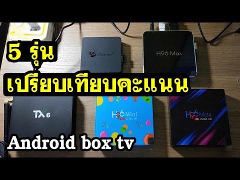 เปรียบเทียบ Android box tv  รุ่นไหนดี Tanix Tx6 , H96 max หรือ Beelink ดีมาดูกัน
