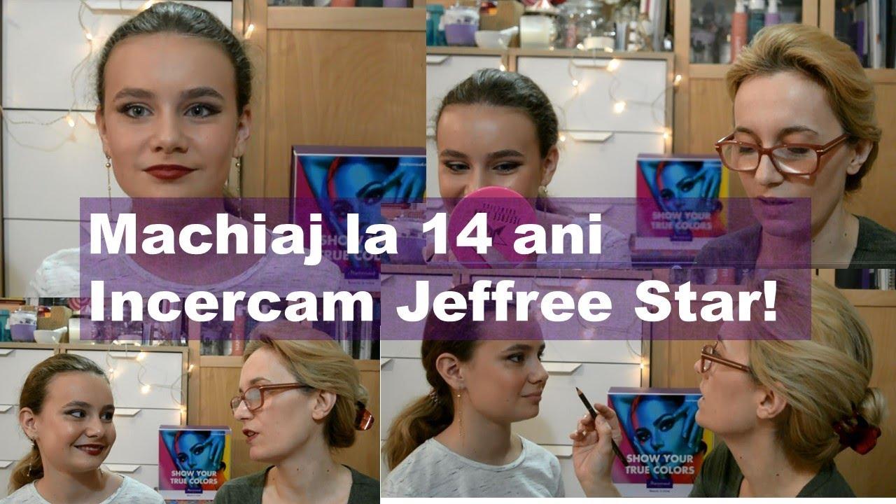 Machiaj La 14 Ani Incercam Jeffree Star Youtube