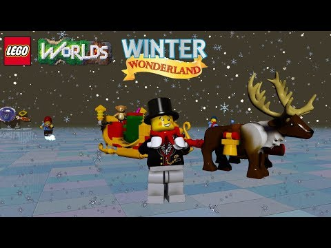 LEGO Worlds NEW Free Winter Wonderland Christmas Biome and Unlocks!
