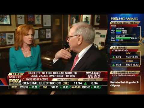 FOX Business Network interviews Warren Buffett at Smith and Wollensky