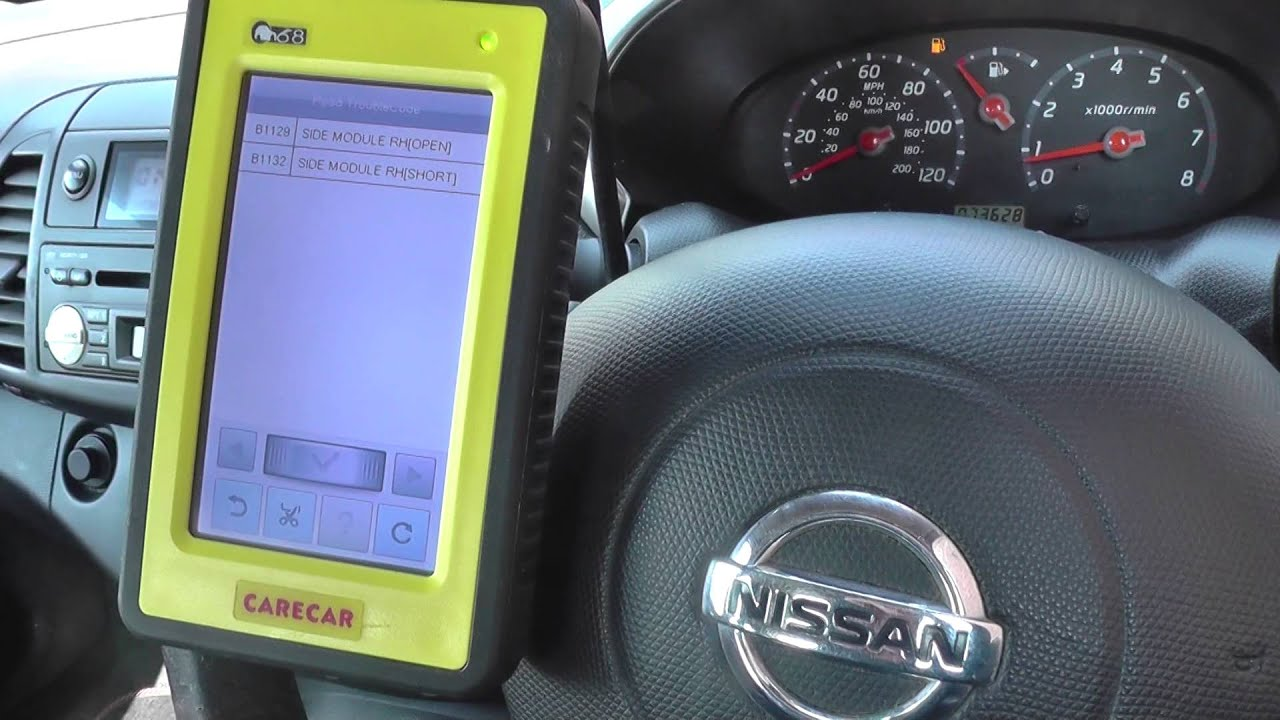 how to read nissan navara fault codes