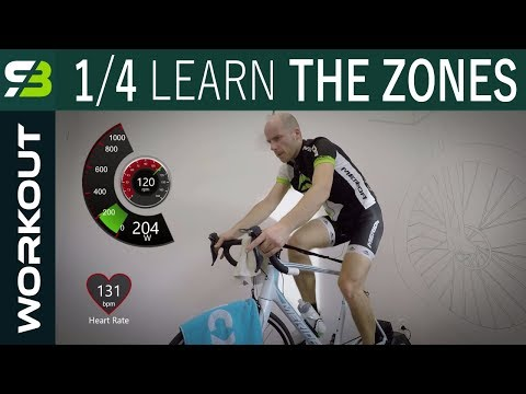 Indoor Cycling 1/4. Ride Through 6 Training Zones. After FTP TEst Workout.