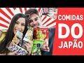 EXPERIMENTANDO: COMIDAS DO JAPÃO com LucasdsCordeiro / Sangerine