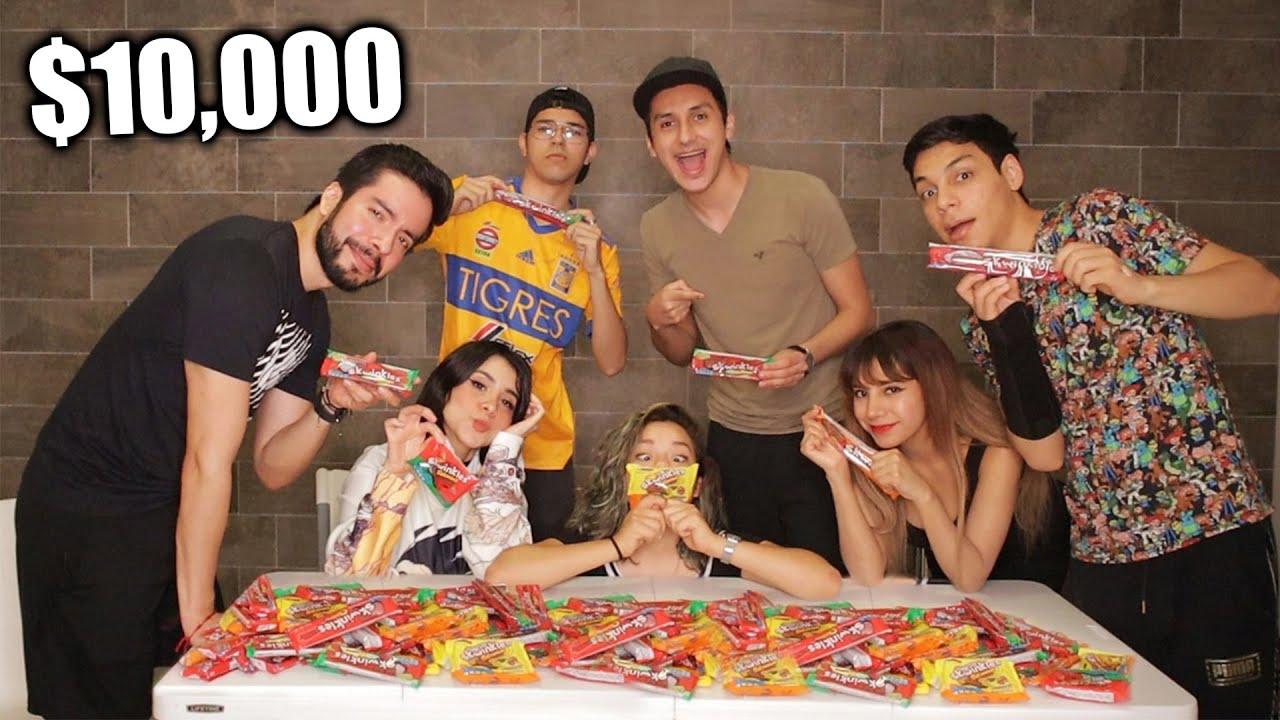 ¡ADIVINA EL SABOR del SKWINKLE! Quien gane se lleva $10,000! ft. Antronixx, Mony, Barbie, Josue