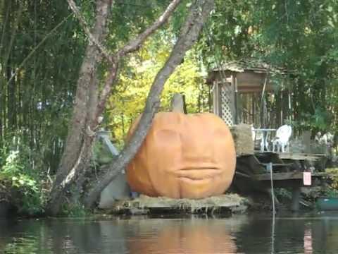 Irascible Giant Pumpkin on the Rancocas Creek The Great Pumpkin