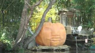 Irascible Giant Pumpkin on the Rancocas Creek The Great Pumpkin