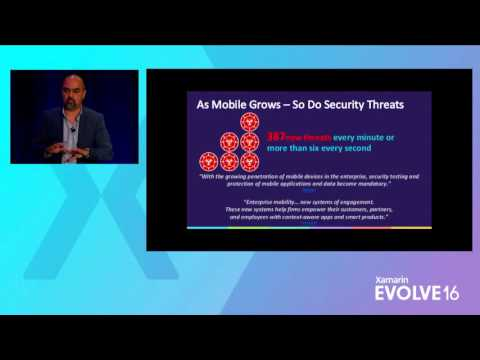 Xamarin Evolve 2016: Think Like a Hacker—Common Techniques Used to Exploit Apps – Rehman & Crocker