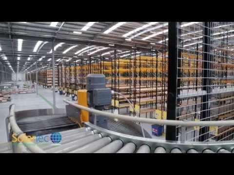 Travis Perkins installs solar panels with Solarlec