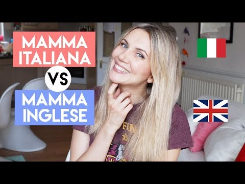 MAMME ITALIANE vs MAMME INGLESI - TUTTE LE DIFFERENZE