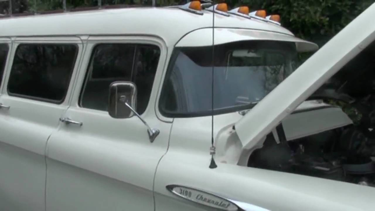 Limo For Sale >> 1957 (Chevy) Chevrolet Suburban (Limo) Limousine - YouTube