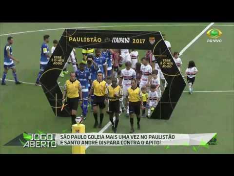 Tricolor bate Santo André por 4 a 1 no Paulistão