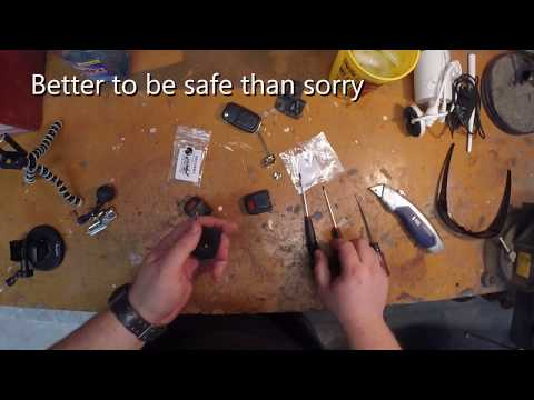 Pontiac G8 flip key fob swap and replacement