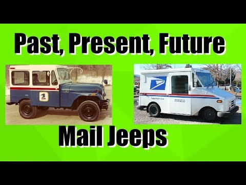 History Of USPS Mail Delivery Jeeps