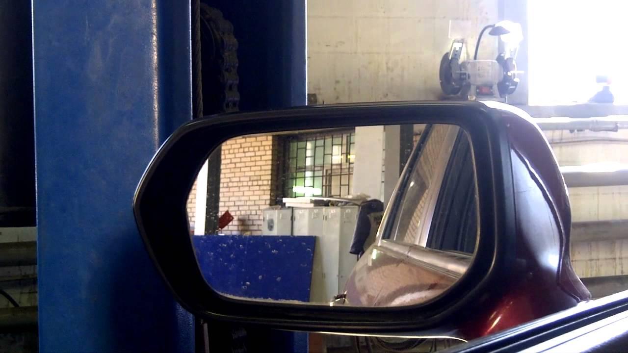 как отремонтировать боковое зеркало механическое mazda 323 95