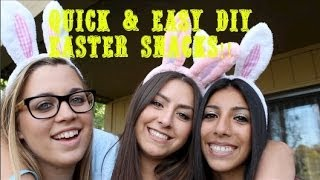 Quick&Easy DIY Easter Snacks! Thumbnail