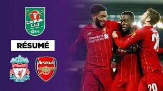 GRAND FORMAT : 10 buts, Liverpool élimine Arsenal dans le match de l'année !