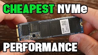 Upgrading to One of the Cheapest NVMe SSDs Available