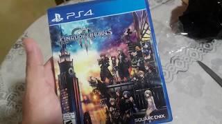 Kingdom Hearts 3 PS4 Unboxing con Logan