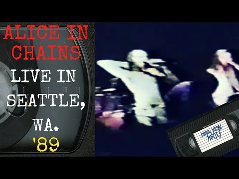 Alice In Chains Live in Seattle WA September 22 1989 FULL CONCERT