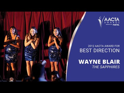 Wayne Blair - Media Room - 2nd AACTA Awards