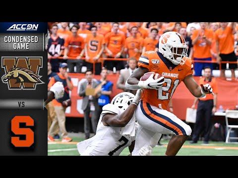 Western Michigan S. Syracuse Condensed Game | ACC Football 2019-20