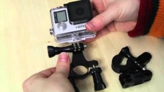 Крепление на GoPro на трубы - велик, лыжы - обзор ▣ Компьютерщик
