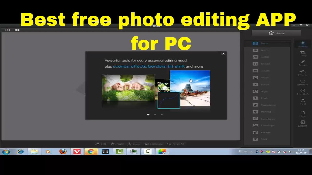 Fotor editor app