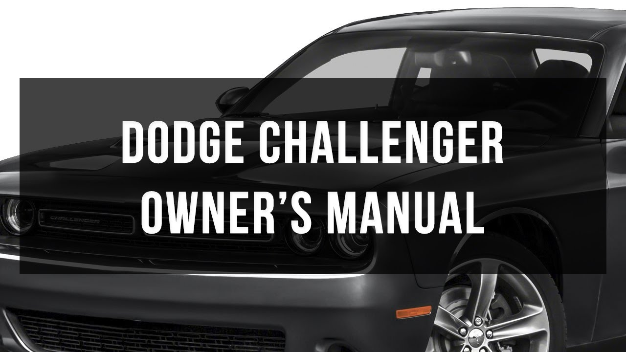 download dodge challenger owner s manual youtube rh youtube com 2012 dodge challenger owners manual free 2012 dodge challenger owners manual for v6
