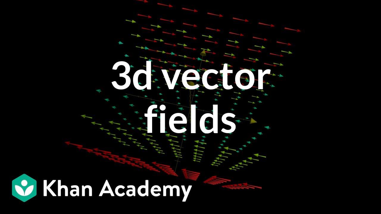 3d vector fields, introduction (video)   Khan Academy