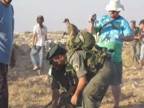 Olmert sends his arab army against its jewish population