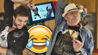 NINTENDO SWITCH + MI PADRE = ¡¡LO P*TO MEJOR DEL MUNDO!!