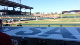 Matt Reynolds NY Mets Prospect Hits Single AFL