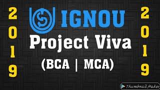 IGNOU BCA, MCA Project VIVA VOCE Questions and Preparation