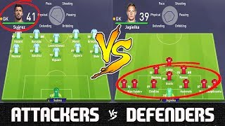 None at the Back VS Everyone at the Back - FIFA 18 Experiment