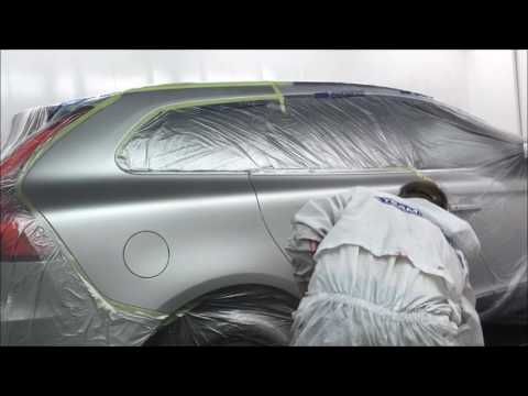 VOLVO SPRAY PAINTING,WATER BASE   Copy