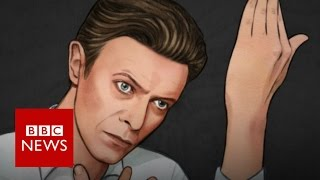 David Bowie GIF by Helen Green   BBC News