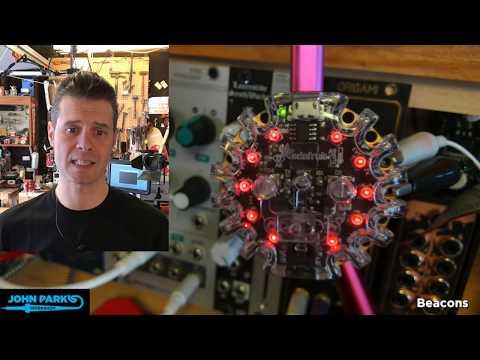 MakeCode Minute: Synth Volt Meter @adafruit @johnedgarpark #adafruit @MSMakeCode #makecode