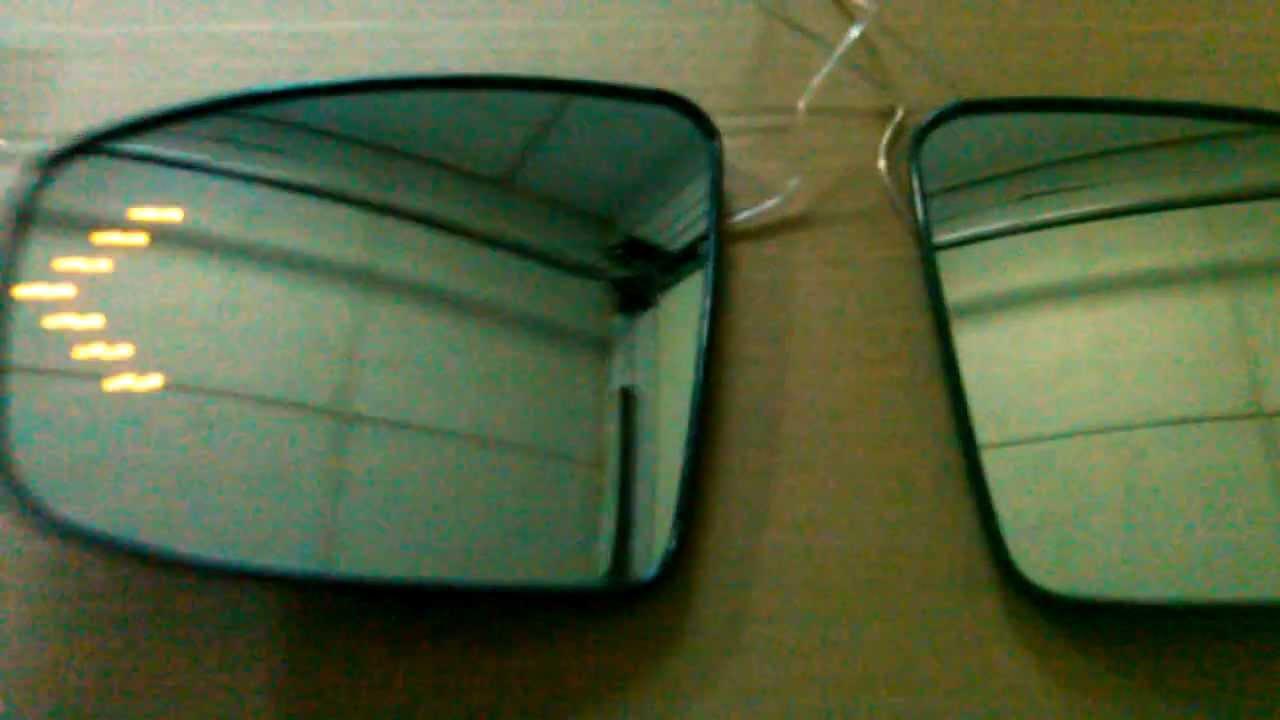 Снятие зеркального элемента Audi Q7 NF