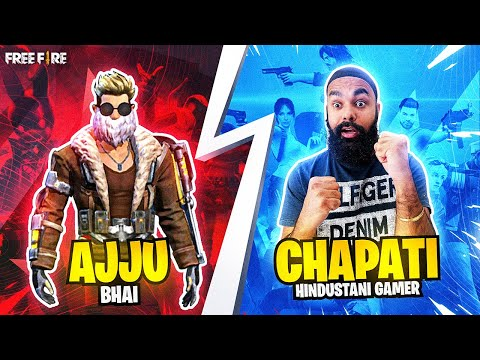 WHEN 2 NOOBS PLAY WITH AJJU BHAI @Total Gaming   GARENA FREE FIRE