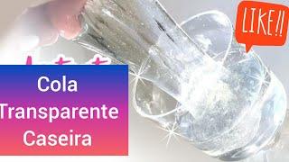 Faça Cola Transparente Caseira com 2 Materiais