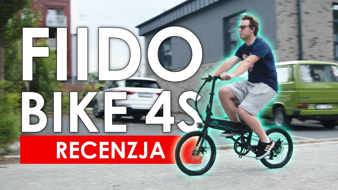 Idealna hybryda do miasta? Rower Fiido Bike D4s - recenzja składaka elektrycznego
