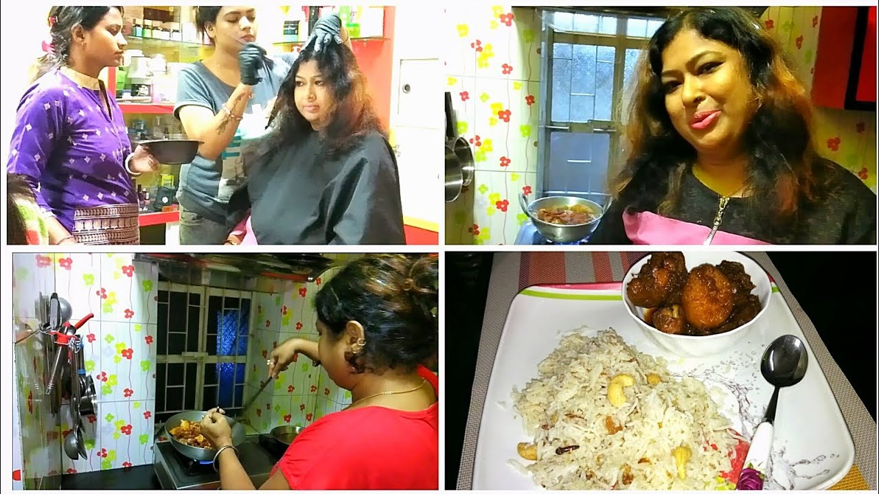 Download What I have done to my hair??😱Special dinner - Fried Rice & Chicken Curry/Puja Preparation 2018
